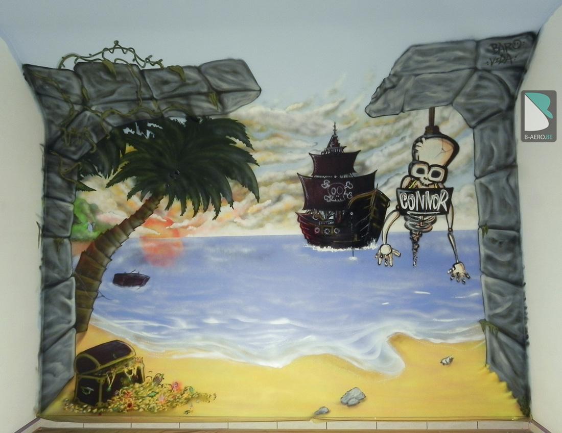D Coration Chambre Pirate Des Caraibes