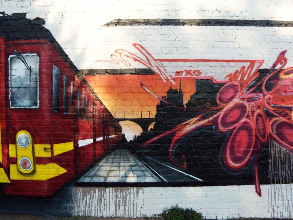 Graffiti artiste en déco trompe loeil et graffitis partout en belgique decor graff in belgium